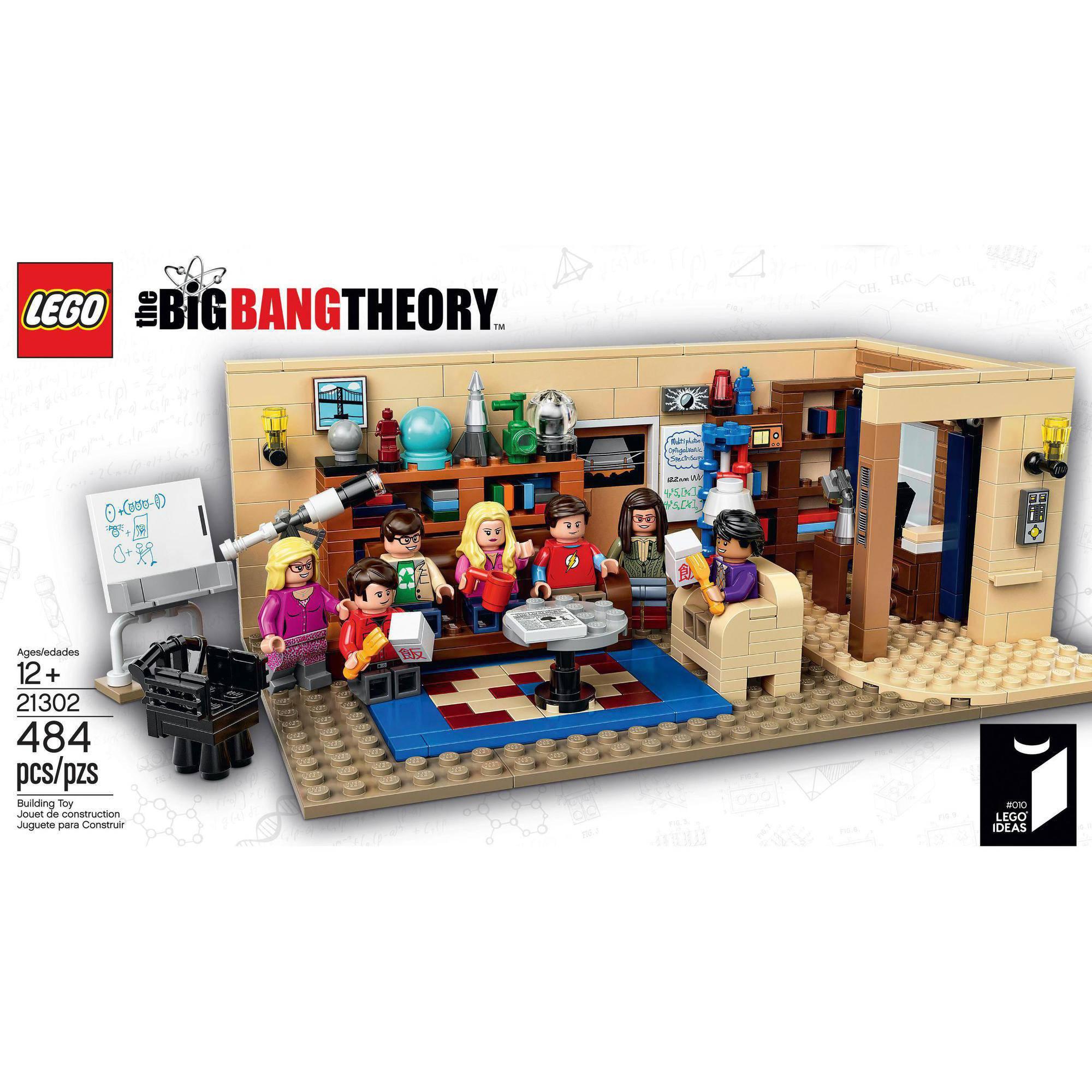 LEGO The Big Bang Theory Build...