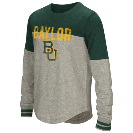 Youth Girls' Baton Baylor University Bears Long Sleeve Shirt