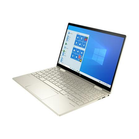 "HP - ENVY x360 2-in-1 13.3"" Touchscreen Laptop - Intel Evo Platform - Intel Core i7 - 8GB Memory - 512GB SSD - Pale Gold"