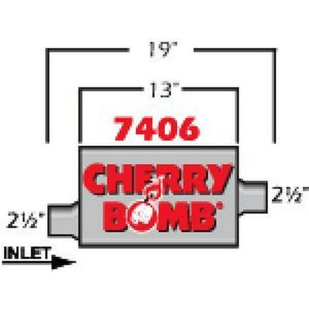 Cherry Bomb 7406 Pro Muffler