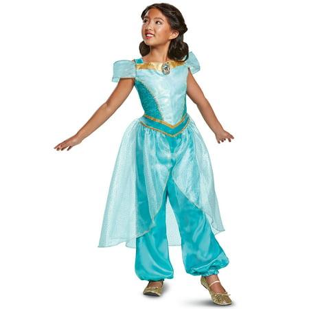 aladdin jasmine deluxe child halloween costume