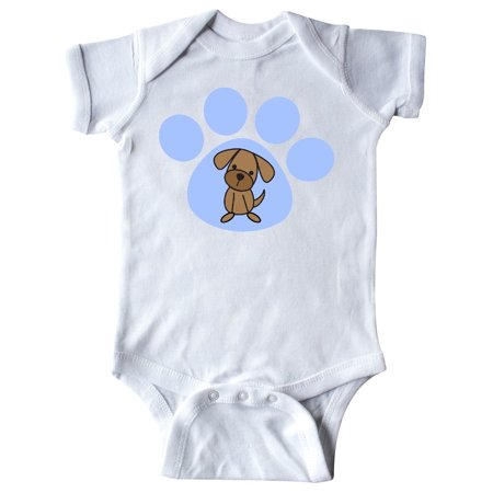 Dog Lover Paw Print Pet Infant Creeper