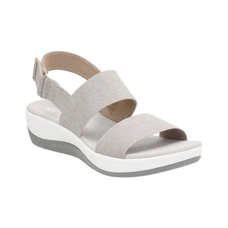 f349ff18a4bd Clarks - Womens Clarks Arla Jacory Cloudstepper Wedge Sandals