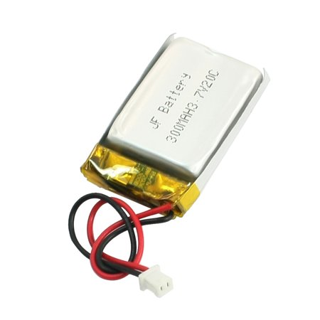 3.7V 300mAh 20C Lithium Polymer Rechargeable Battery Li-Po for RC Airplane