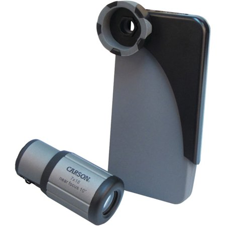 Carson IC-518 HookUpz iPhone 4, 4S and 5 Adapter for 7x18mm CloseUp Monocular ()