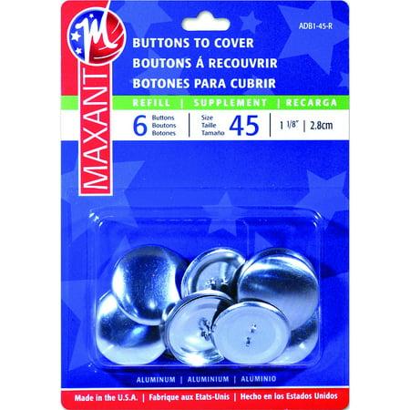 Cover Button Refill-Size 45 1-1/8