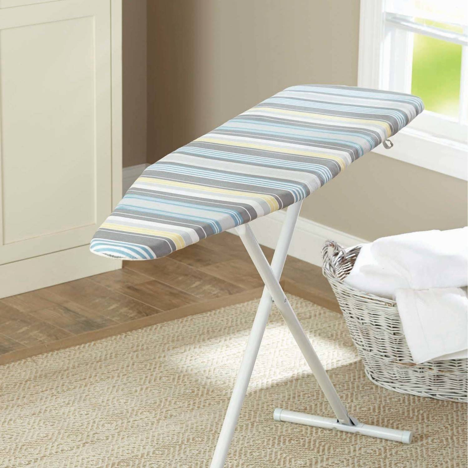 Better Homes and Gardens Reversible Ironing Board Pad and Cover, Casual Stripe