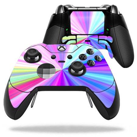 Skin Decal Wrap for Microsoft Xbox One Elite Controller Rainbow Zoom