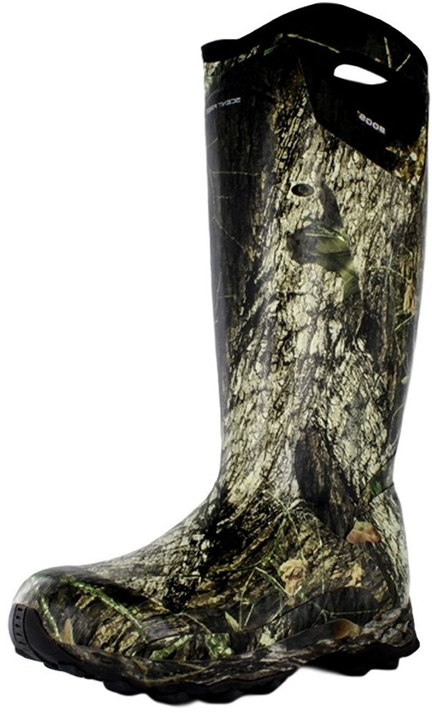 """Bogs Boots Mens 16"""" Bowman Hunting Rubber Mossy Oak 71071 by Bogs"""
