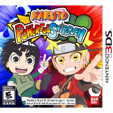 Naruto Powerful Shippuden   Nintendo 3Ds