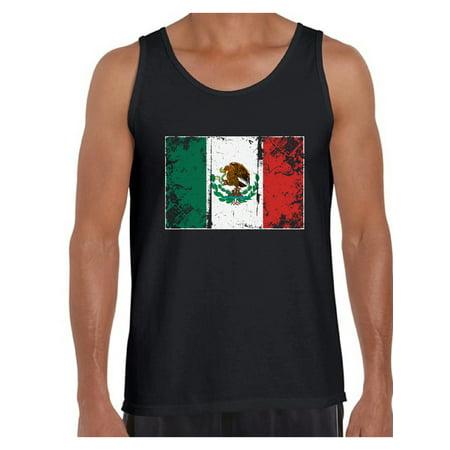 Awkward Styles Mexico Flag Tank Top for Men Mexican Tanks Mexican Men Gifts from Mexico Flag of Mexico Mexico Muscle Shirt Mexican Tshirt for Men Mexican Flag Gift Mexico Tank Top Mexico Soccer Tank