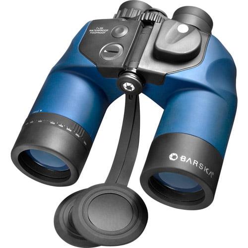 Barska 7x50 WP Deep Sea Binoculars with Internal Rangefinder and Digital Compass by Generic
