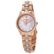 Michael Kors Women's Runway MK6674 Rose-Gold Stainless-Steel Japanese Quartz Dress Watch
