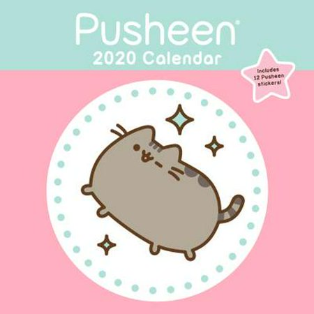 Pusheen Box Fall 2020.Pusheen 2020 Wall Calendar