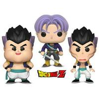 Warp Gadgets Bundle - Funko POP! Dragon Ball Z: Gotanks Failed Fusions 2 Pack and Trunks (2 Items)