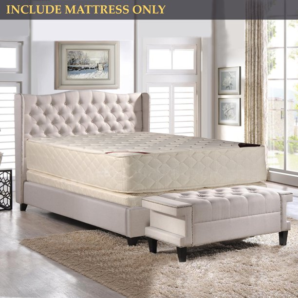 GOWTUN, 14-Inch Firm Double sided Tight top Innerspring Fully Assembled Mattress, Good For The Back, Twin Size
