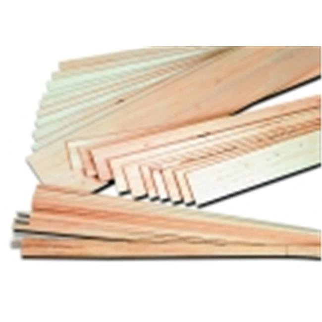 School Specialty 0. 37 x 0. 37 x 36 inch Balsa Strip, Pack - 12