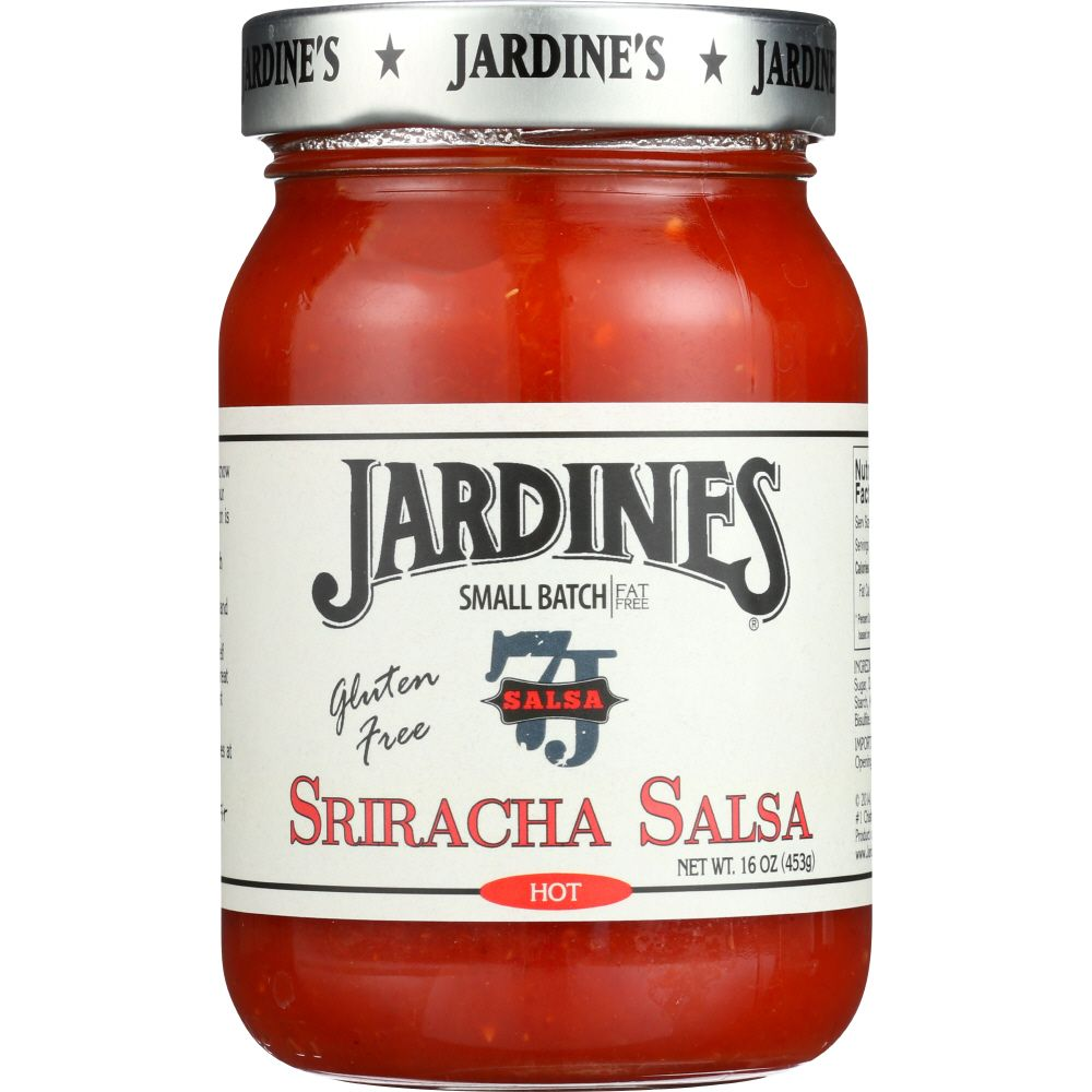 Jardines Salsa, Sriracha, Hot, 16 Oz (Pack Of 6)