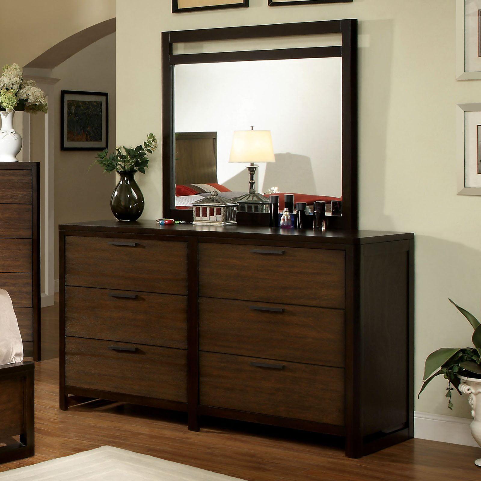 Furniture of America Sophie 6 Drawer Dresser