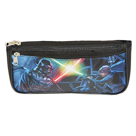 Star Wars-Darth Vader, Luke Skywalker Nylon Pencil Multi-Color Case Double Zipper](Luke Skywalker Tunic)