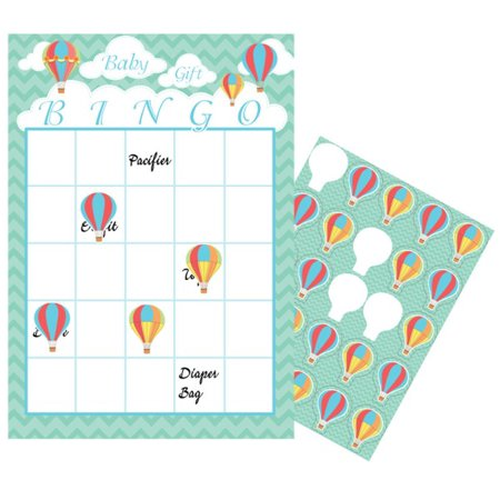 Hot Air Balloon Bingo Game for $<!---->