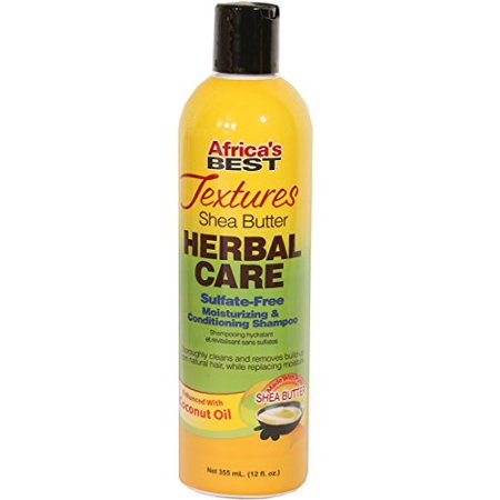 Africa's Best Textures Herbal Care Shampoo 12 oz.