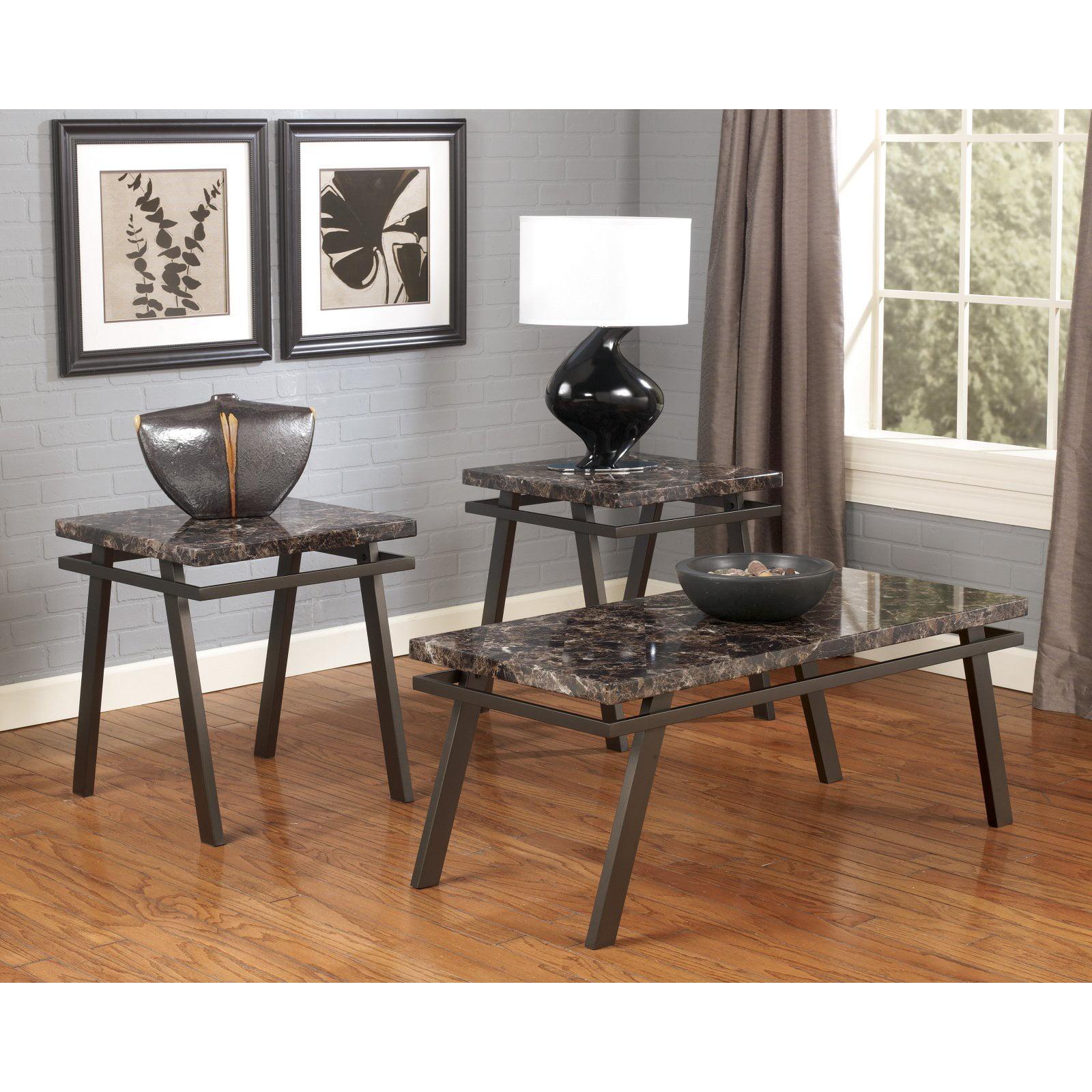 Signature Design by Ashley Paintsville 3 Piece Coffee Table Set