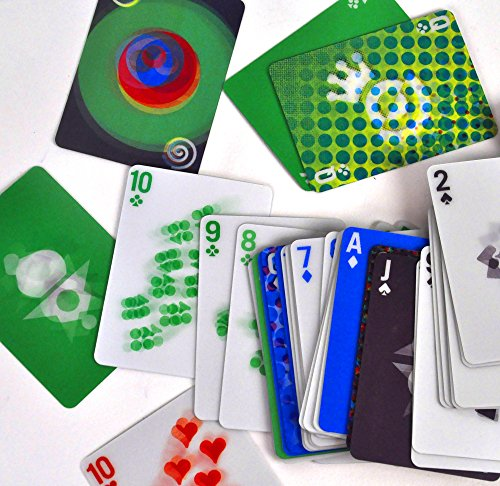 Kikkerland Design Motion Playing Cards