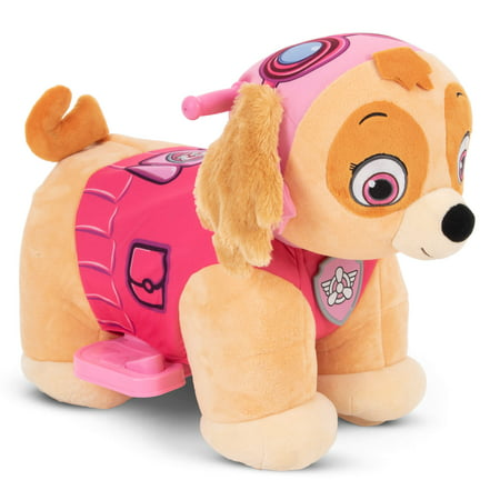 Nick Jr. Paw Patrol Skye 6V Plush Ride-On Toy for Toddlers by Huffy