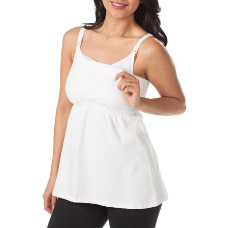 915cd75d2ae Loving Moments by Leading Lady - Maternity to Nursing Babydoll Tank with  Full Sling 2 Pack, Style L317 - Walmart.com