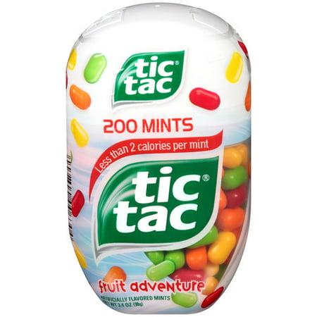 Tic Tac Fruit Adventure Mints, 200 ct, 3.4 oz - Walmart.com