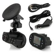 "1.25"" Full HD 1080P Car DVR Vehicle Camera Video Recorder Dash Cam G-sensor"