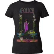 The Police Rock Band Commonwealth Stadium Juniors Tri-Blend Jersey T-Shirt Tee