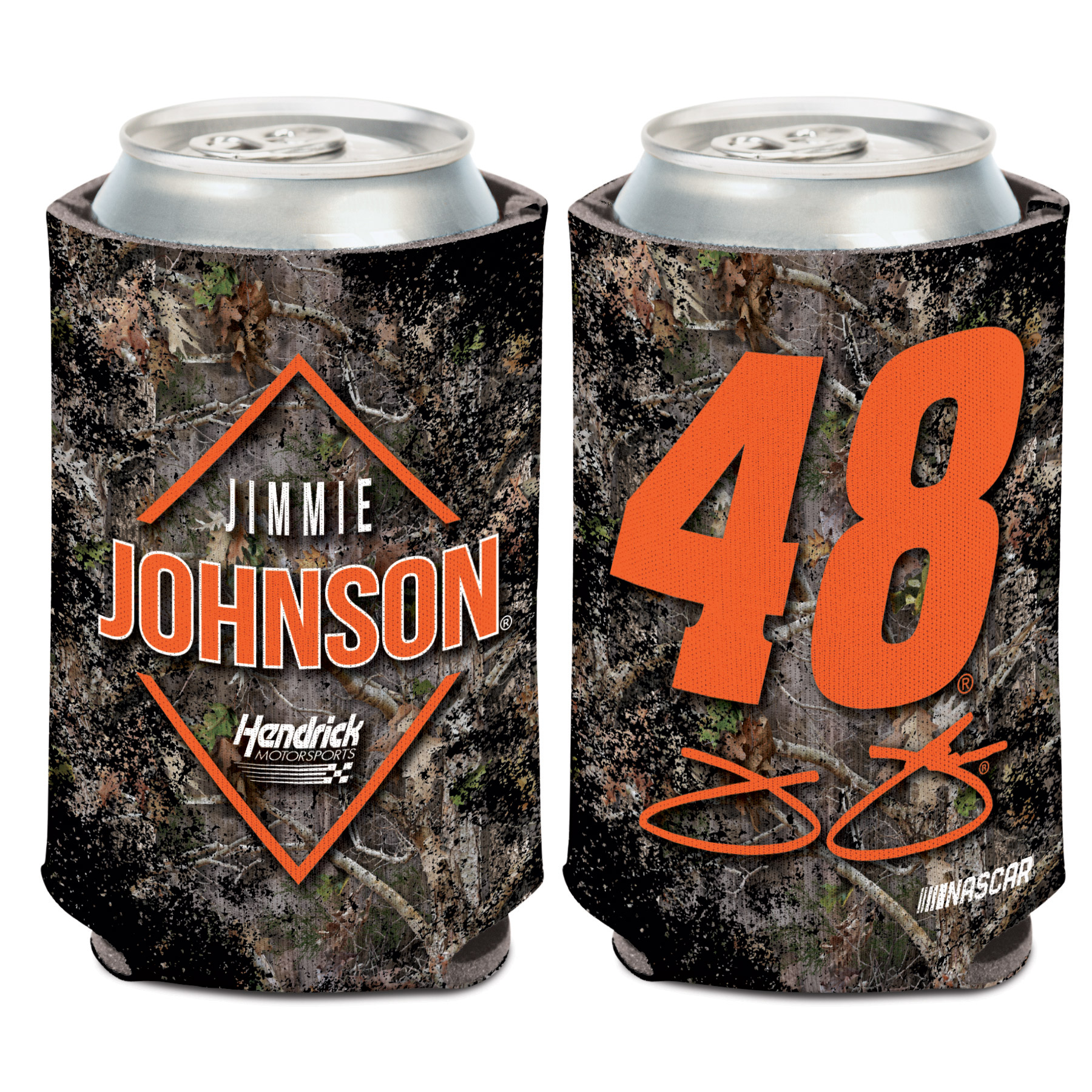 Jimmie Johnson WinCraft 2018 Camo 12oz. Can Cooler - No Size