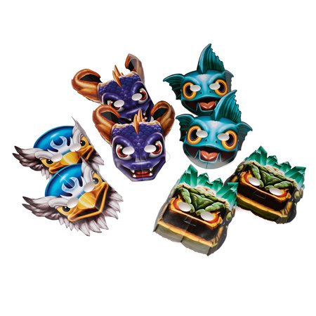 Skylanders Party Masks, 8ct - Skylanders Birthday Party