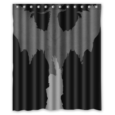 Deyou Dragon Age Dark Shower Curtain Polyester Fabric Bathroom Size 60x72 Inches
