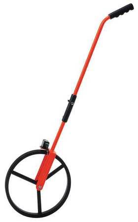 Rolatape Measuring Wheel, Heavy Duty Single, Steel, Orange, 32-300RP by Cst/ Berger Instruments
