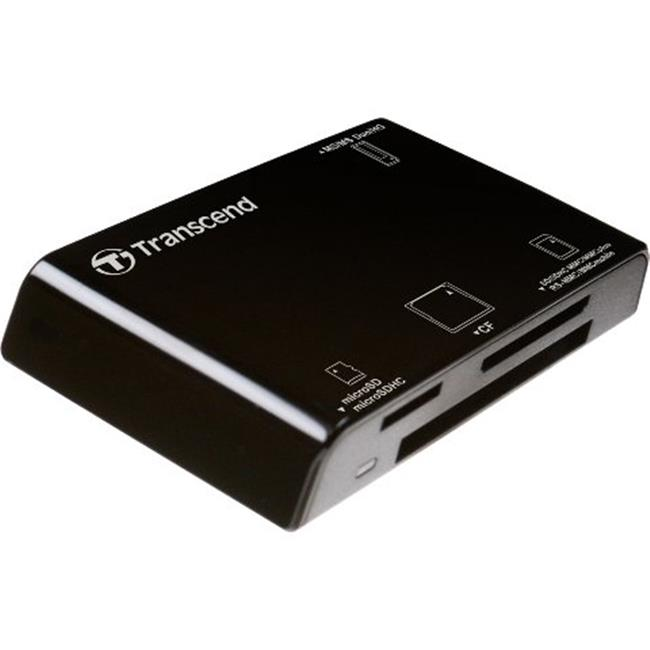 Transcend TSRDP8K Multi-Card Read P8, Black
