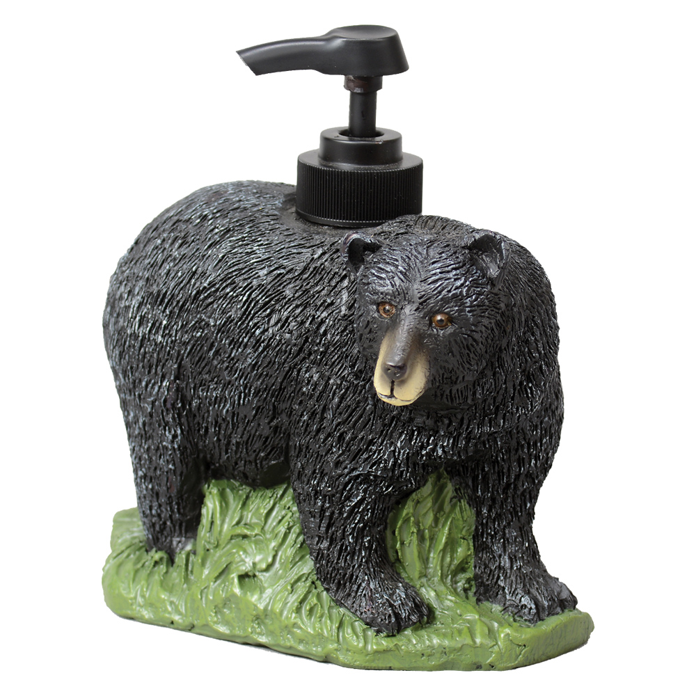 Bear Soap Dispenser   Rustic Bathroom Accessories   Walmart.com