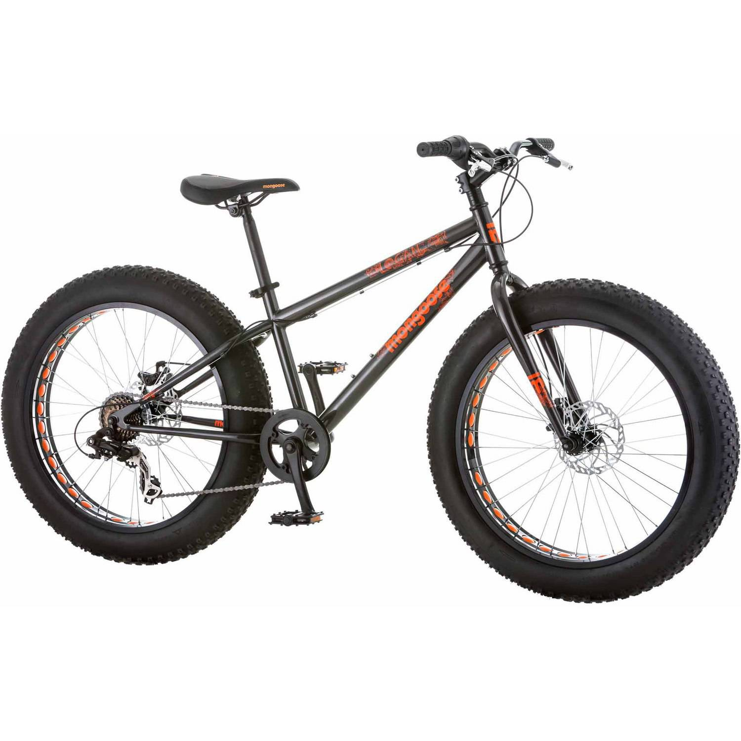 Boys Outdoor Bike 24 Inch Push Pedal Ride Bicycle Kids
