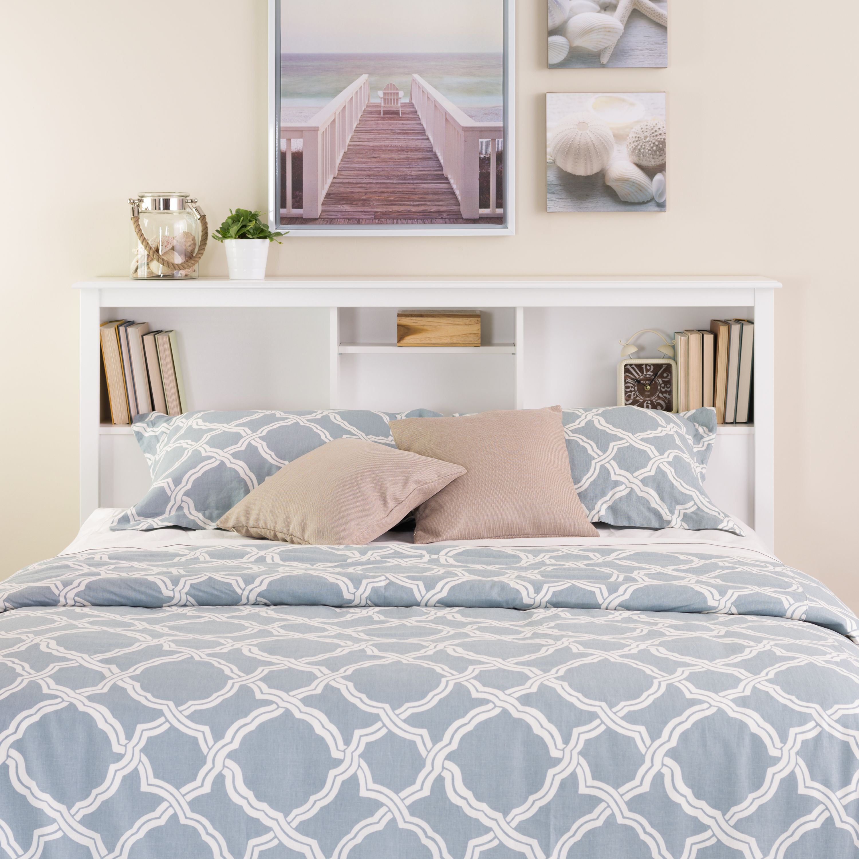 Prepac Full/Queen Bookcase Headboard