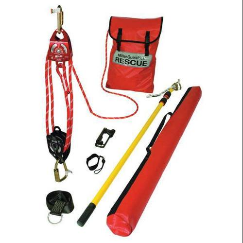 MILLER BY HONEYWELL QP-1/50FT Rescue System, Cable 50 ft