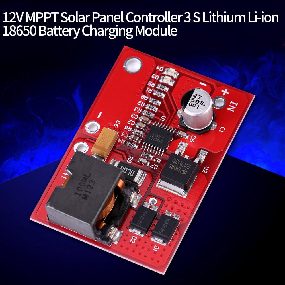 3 S Lithium Battery Charging Chargeur Module Puissance maximale Point Suivi de panneau solaire contrôleur DEL Power