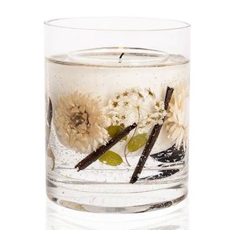 Oud & Amber Stoneglow Natures Gift Scented Natural Wax Botanical Candle - 30 Hour (30 Candles)