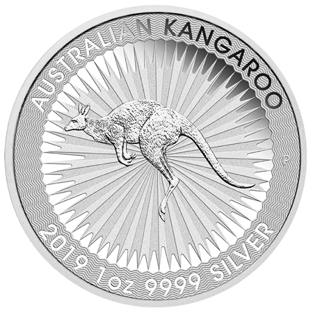 2019 Perth Mint Kangaroo 1 oz Silver Coin