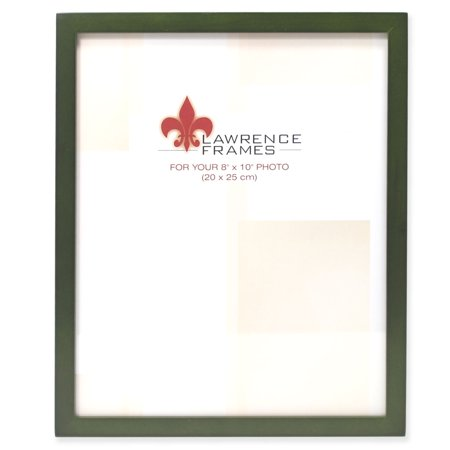 8x10 Green Wood Picture Frame - Gallery Collection