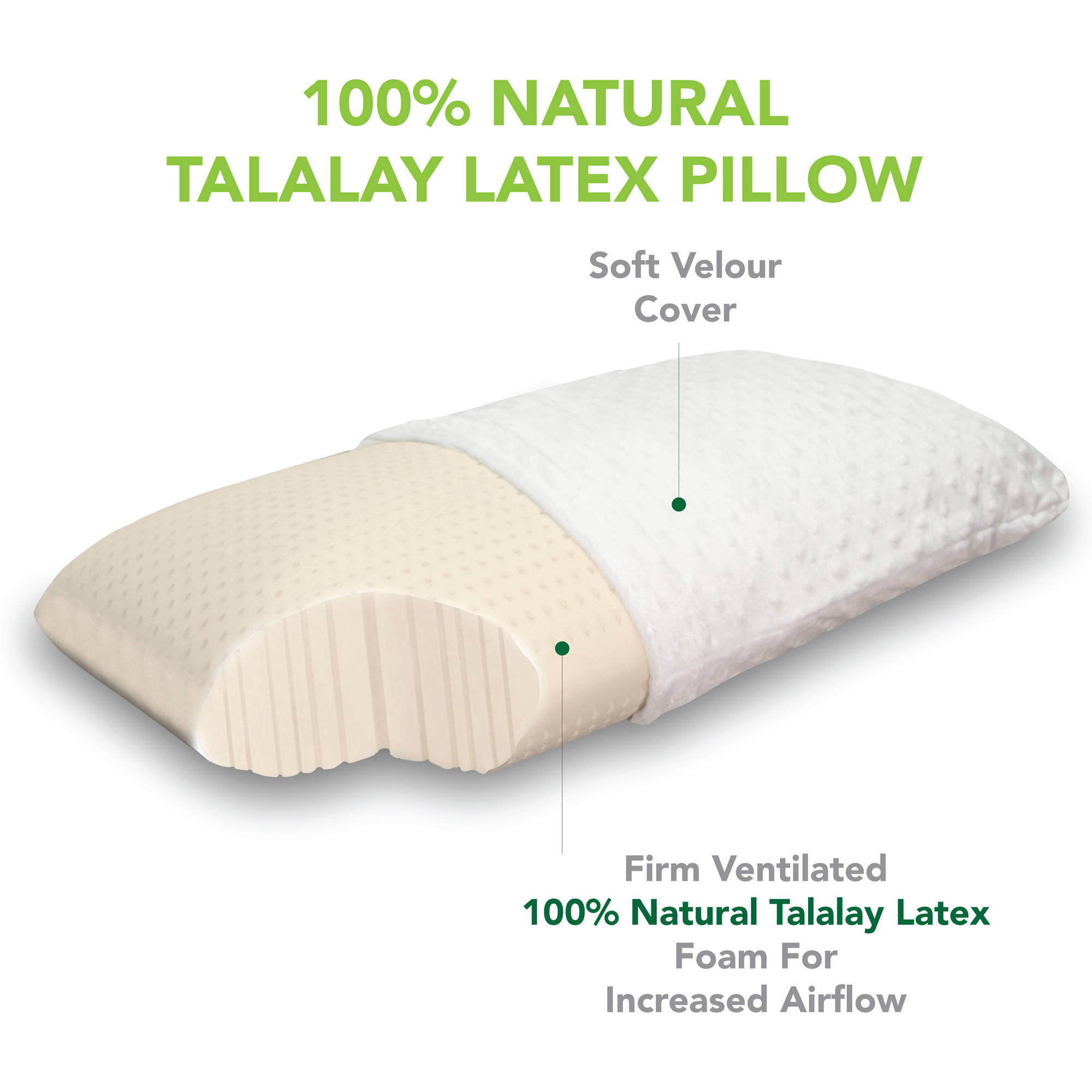 Modern Sleep Talalay Latex Pillow : Latex Foam Bed Pillows premium pillows latex and memory foam sheridan, memory foam pillow care ...
