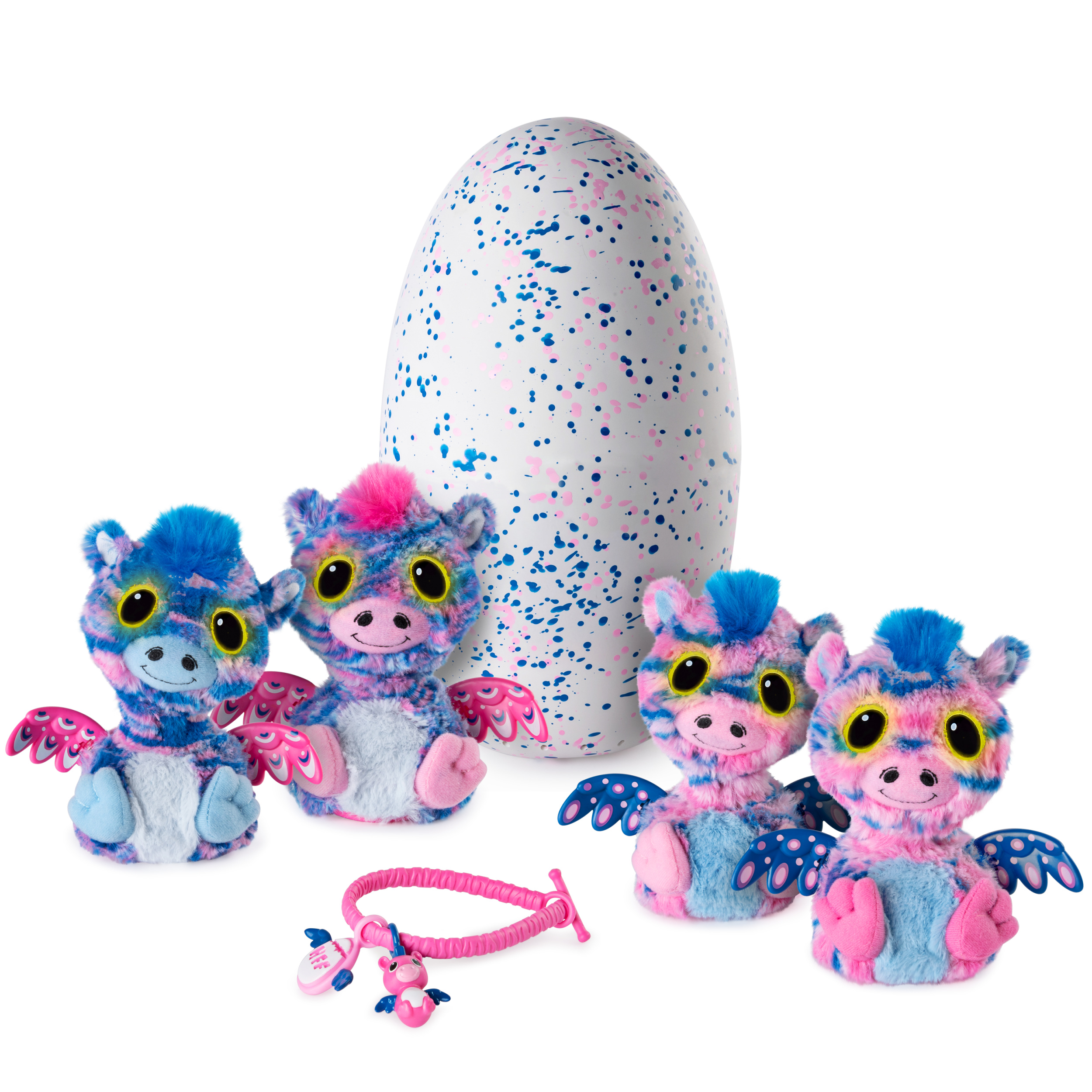Hatchimals Surprise, Zuffin, Hatching Egg with Surprise Twin Interactive Hatchimal Creatures and Bracelet Accessory by Spin Master, Available Exclusively at Walmart