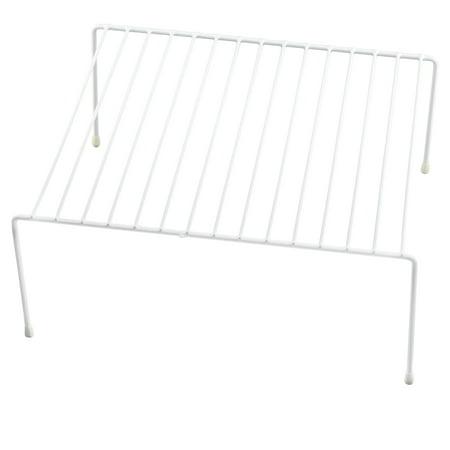 Ybm Home Wire Kitchen Counter and Cabinet Helper Shelf Organizer, White 2555vc
