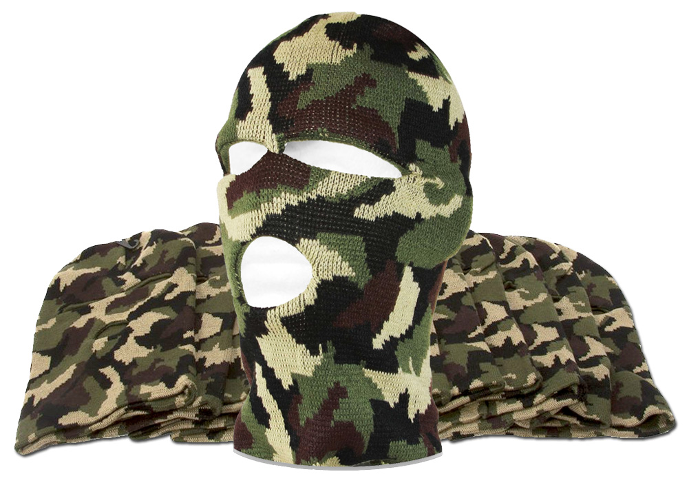 3-Hole Ski Mask 12-Pack by TOP HEADWEAR